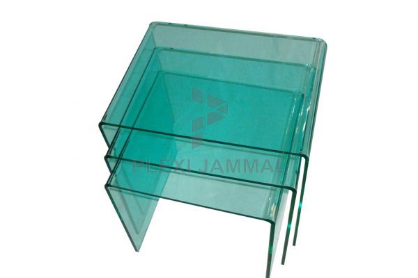 interesting nesting table with table gigogne plexiglas. Black Bedroom Furniture Sets. Home Design Ideas