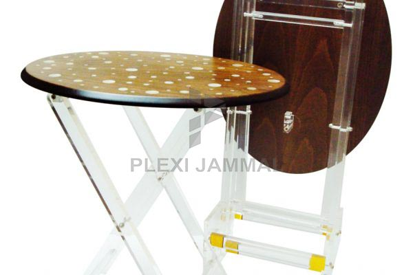Table oval mother of pearl